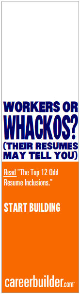Workers or Wackers? CareerBuilder Ad