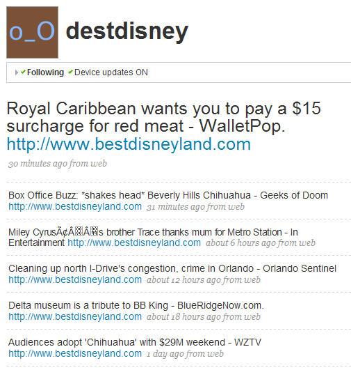 Click to visit the destdisney Twitter profile