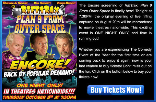Rifftrax at a theater near you!